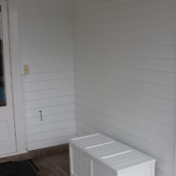 BoxSeat Indoor Outdoor Wood Storage Box in Arctic White