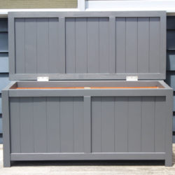 BoxSeat Outdoor Wooden Storage in Baltic Black