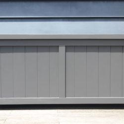 Wood Storage Box - BoxSeat in Baltic Black