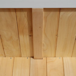 BoxSeat Wood Storage Untreated Macrocarpa Interior