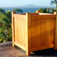 Coast Large PlanTub Planter Box Natural Finish