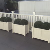 Coast Custom Planters Rooftop Terrace Wellington