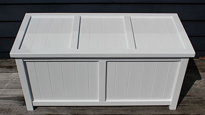 Large BoxSeat Indoor Outdoor Storage Box