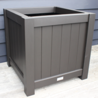 Extra Large Metro Garden Planter Box Angle View