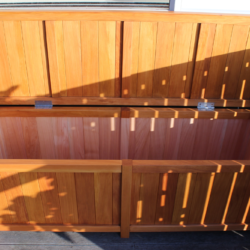 Extra Large Deck Storage BoxSeat Open